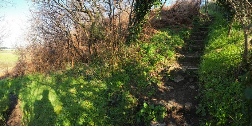 C. WACTAUSEN Tumulus de Tumiac ou Butte de C�sar Arzon (2) - Morbihan Bretagne Sud