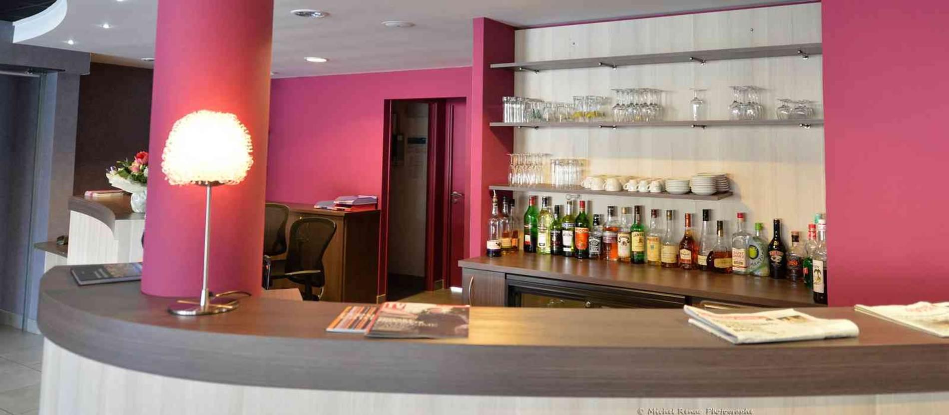 hotel-brithotel-fleurderhuys-theix-Morbihan Bretagne Sud-reception © hotel-brithotel-fleurderhuys-theix