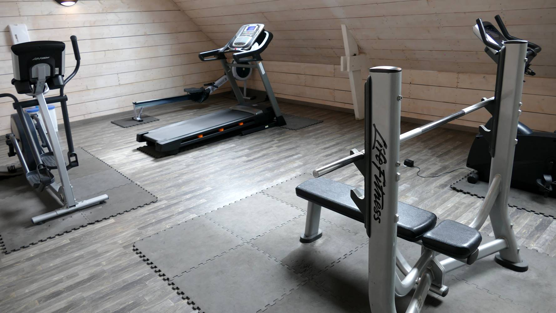 Salle musculation et fitness ©