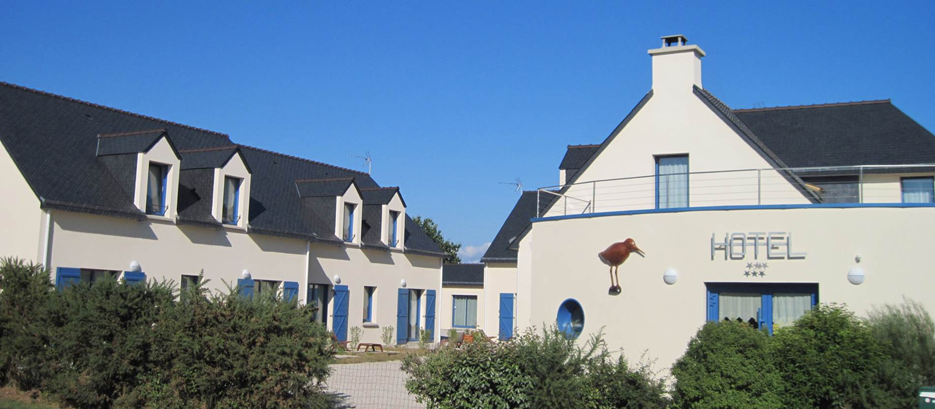 Hôtel-Chevalier-Gambette-Saint-Armel-Presqu'île-de-Rhuys-Golfe-du-Morbihan-Bretagne sud © Hôtel Chevalier Gambette