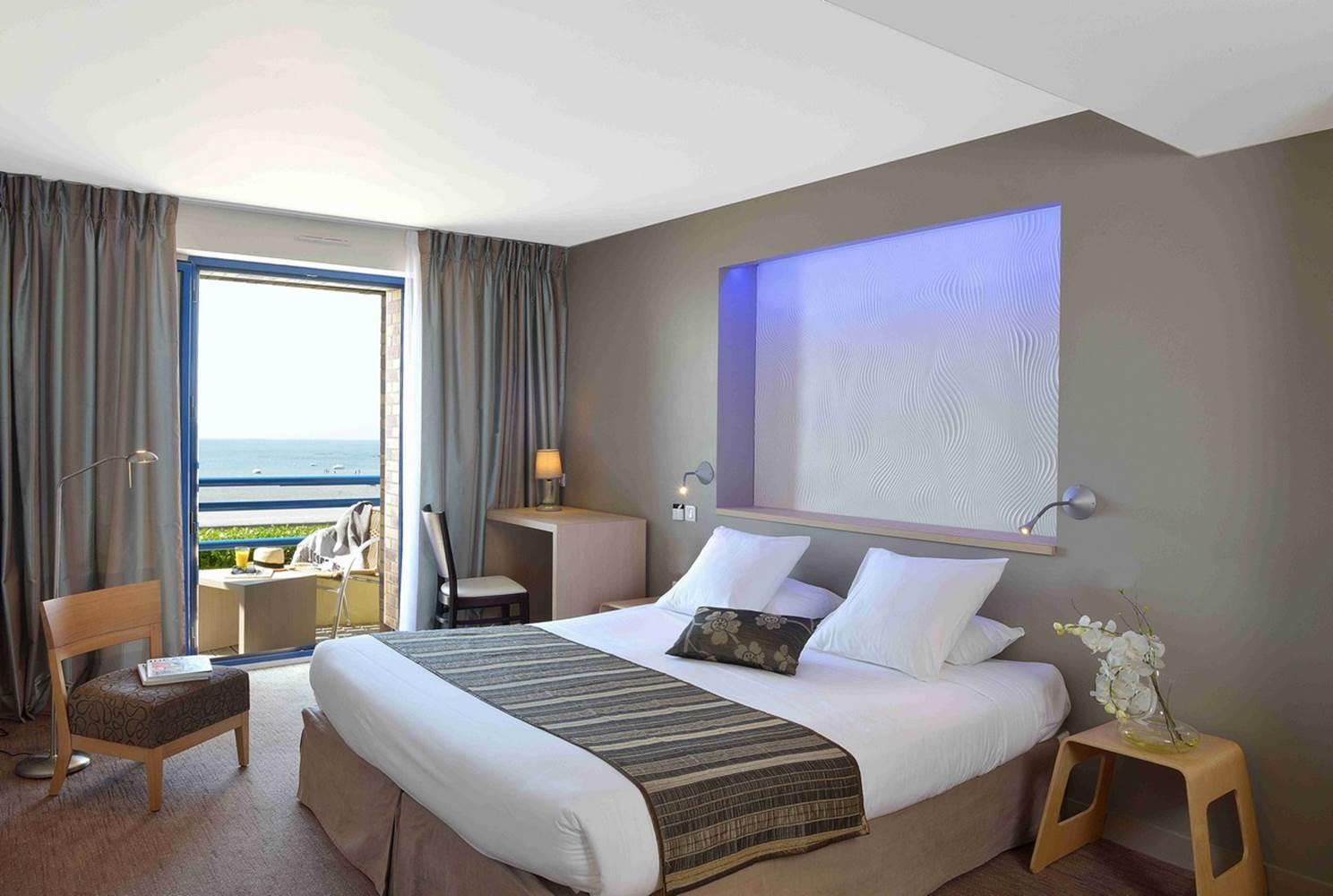 2ème chambre Hôtel de La Plage - Damgan Bretagne Sud © Hôtel de La Plage - Damgan Bretagne Sud