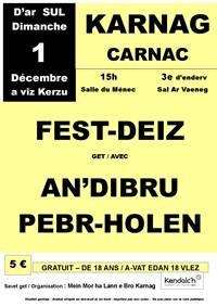 Fest Deiz de l'association Mein Mor Ha Lann E Bro Karnag