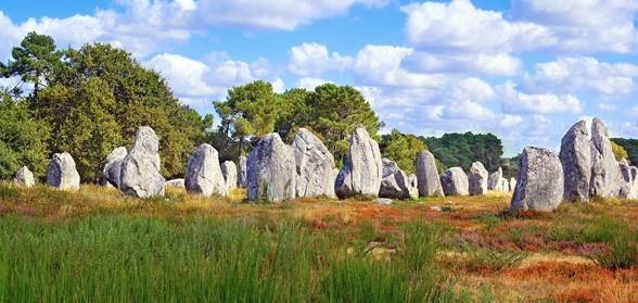 Carnac et les alignements de menhirs