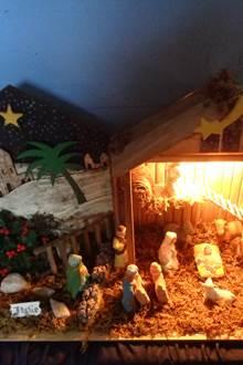Crèches de Noël à Lignol