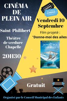Cinéma en plein air - Saint-Philibert