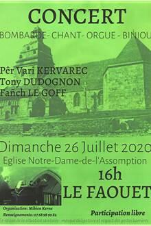 Concert à l'église du Faouët