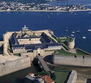 La Rade de Lorient depuis la Citadelle de Port Louis