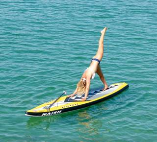 Sarah HEBERT - Stand Up Paddle- Beach Yoga-Sup