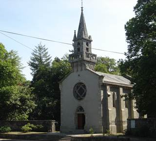 Site de Pont Calleck - Château et chapelle Sainte-Anne des Bois