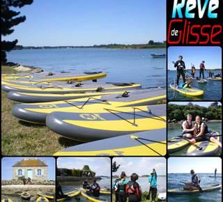 Ecole de stand up paddle - Rêve de glisse