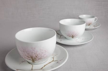 Gwen Porcelaine peinture sur porcelaine