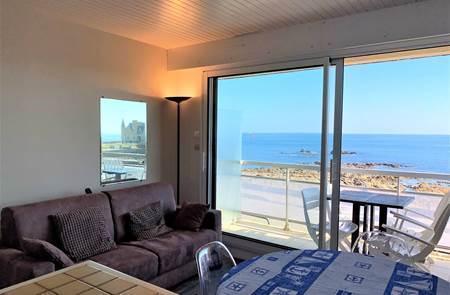 Quiberon - appartement 2 pièces - 30m² - vue mer