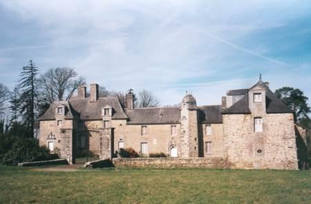 Château de la Riaye à Ménéac