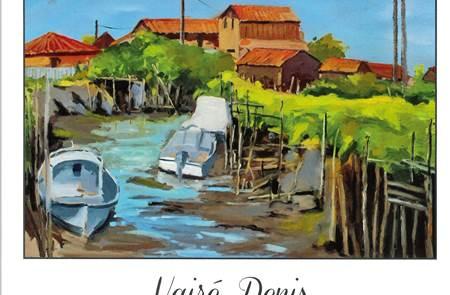 Expo aquarelles et peintures à l'huile Vairé Denis