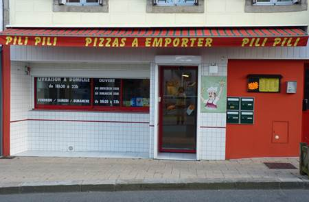 Pizzeria à emporter Pili pili