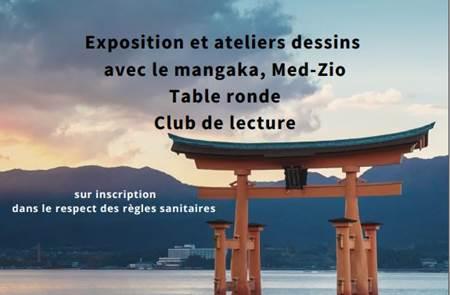 """Expositions """"mangas"""" à Crac'h et St Philibert"""