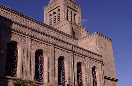 Eglise Saint Jean-Baptiste à Ménéac