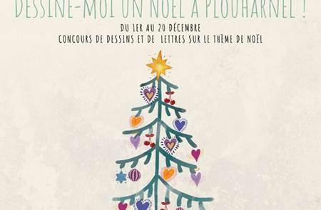 Concours - Dessine-moi un Noël à Plouharnel !