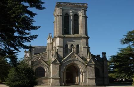 Eglise et Square Saint-Joseph