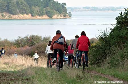 L'Ile aux Moines à Vélo avec Gwen