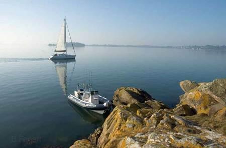 Balade en semi-rigide dans le Golfe du Morbihan