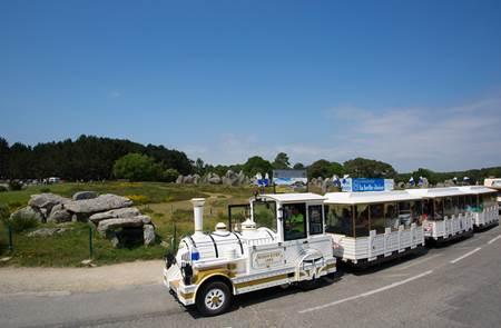 Petit train touristique Carnac