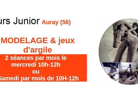 Cours Junior - Modelage & jeux d'argile