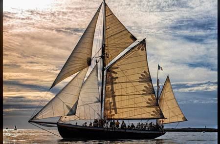 Balade à la journée sur un voilier centenaire