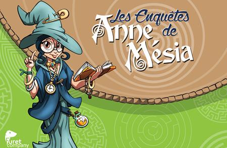 Les enquêtes d'Anne Mésia à Saint-Nicolas-des-Eaux
