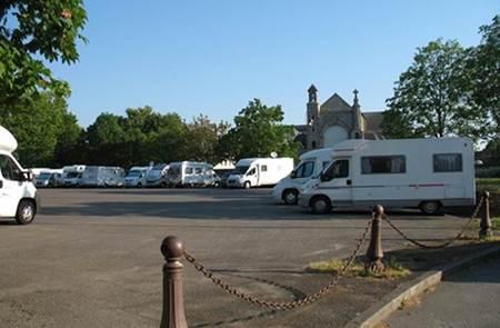 Aire de camping car de Josselin